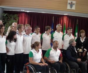Squadra paralimpica e santelli-italiaccessibile