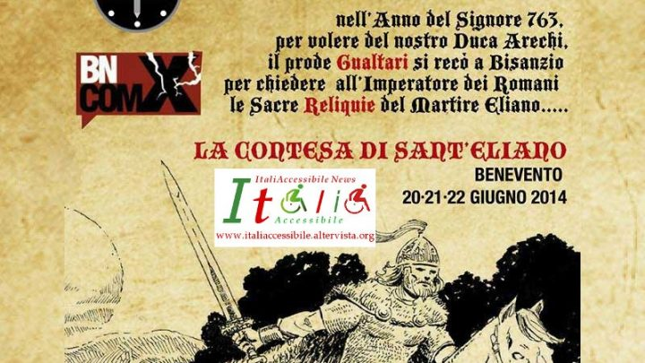 ItaliAccessibile e Benevento Longobarda collaboreranno insieme per l'accessibilità anche nel 2015