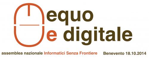 """cover equoedigitale benevento 2014 500x196 - L'evento """"equo e digitale"""" del 18 ottobre a Benevento accessibile grazie alla collaborazione di italiAccessibile e Abiliatour O.N.L.U.S"""