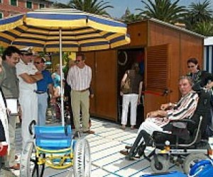 """liguria bandiera lilla 300x250 - Turismo in Liguria, una """"bandiera lilla"""" ai comuni più attenti ai disabili"""
