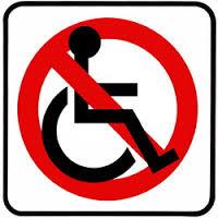 vietato ai disabili-italiaccessibile