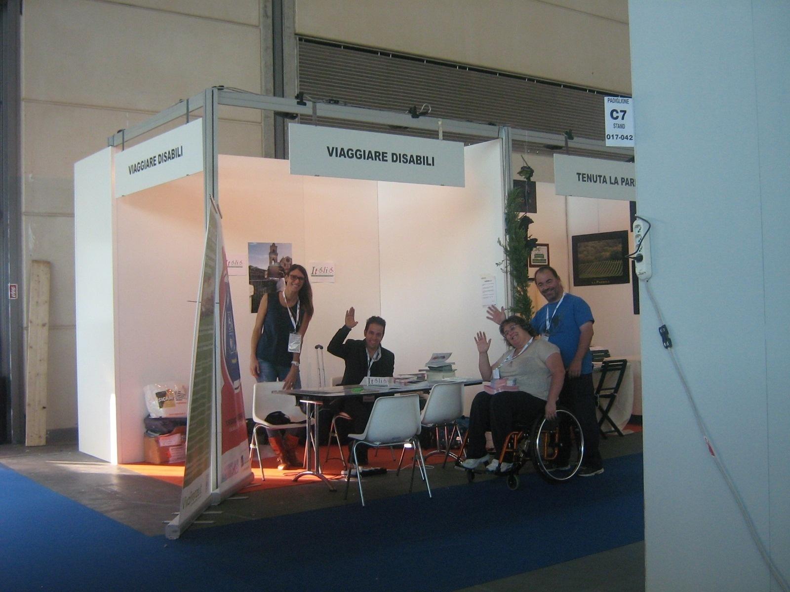 Grande successo per lo Stand Viaggiare Disabili alla Fiera TTG Incontri di Rimini