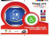 """Copertina catalogo Viaggiare Disabili 2015 Banner 160x120 - 16 febbraio 2015: Laboratorio di Cucina """"Il linguaggio universale del Gusto"""" con Inteprete LIS a Tricase Porto (Le)"""