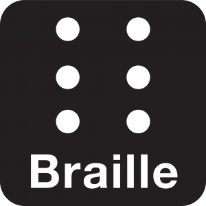 braille 300x300 - iBrailler Notes l'App che permette di scrivere in braille su iPad