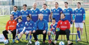 nazionale calcio amputati 300x152 - Calcio Amputati, sabato 28 marzo Italia-Irlanda a Vicenza