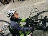 samuel marchese handbike 160x120 - Benevento : Barriere architettoniche e parcheggi selvaggi. ItaliAccessibile incontra le istituzioni
