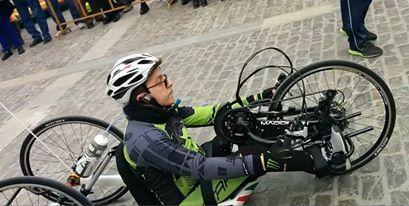 Da Siracusa a Milano per l'Expo: la sfida di Samuel in Handbike