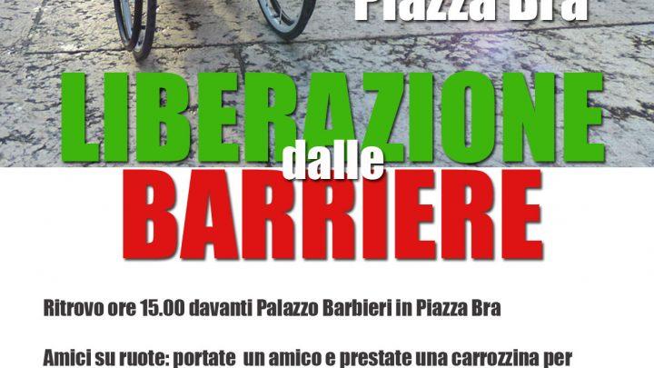 A Verona l'evento il 25 aprile Liberazione dalle Barriere