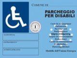 Contrassegno Europeo Disabili fronte italiaccessibile 160x120 - Il Rifugio la Faggeta accessibile grazie al Microcredito della Regione Basilicata
