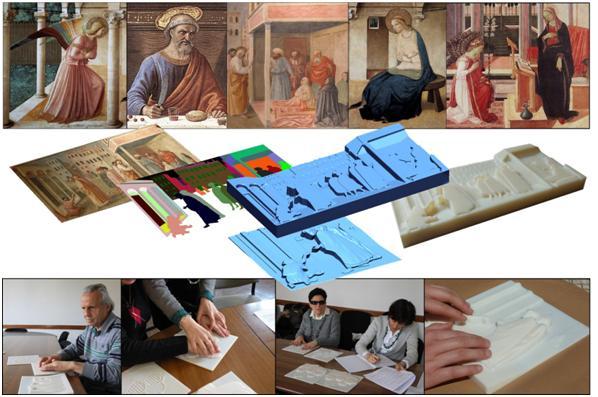 """""""Progetto T-Vedo"""": il Rotary Firenze dona un'opera tattile agli Uffizi"""