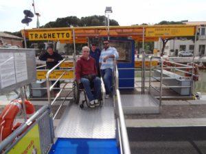 Cesenatico abbattimento barriere-architettoniche sui traghetti