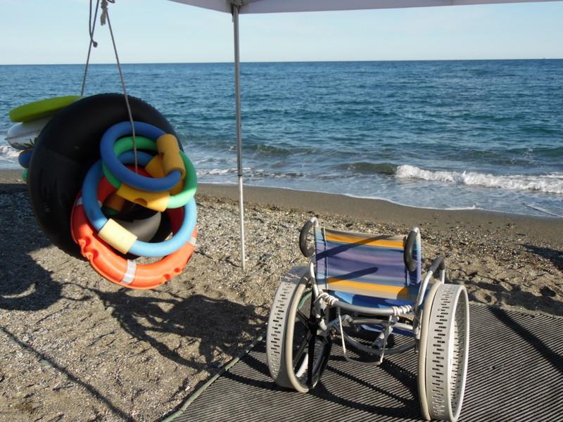 A Loano (Sv) tredici lidi accessibili a tutti
