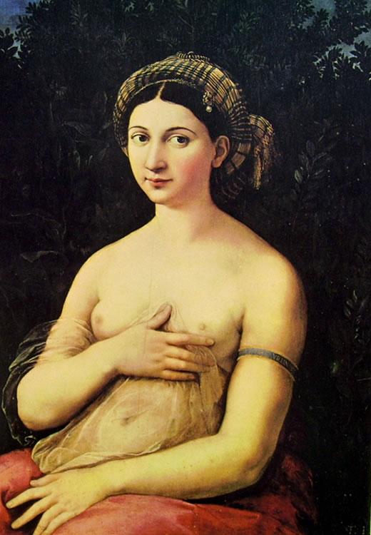 """Un bassorilievo per """"Vedere con le mani"""" della """"Fornarina"""" di Raffaello a Palazzo Barberini"""
