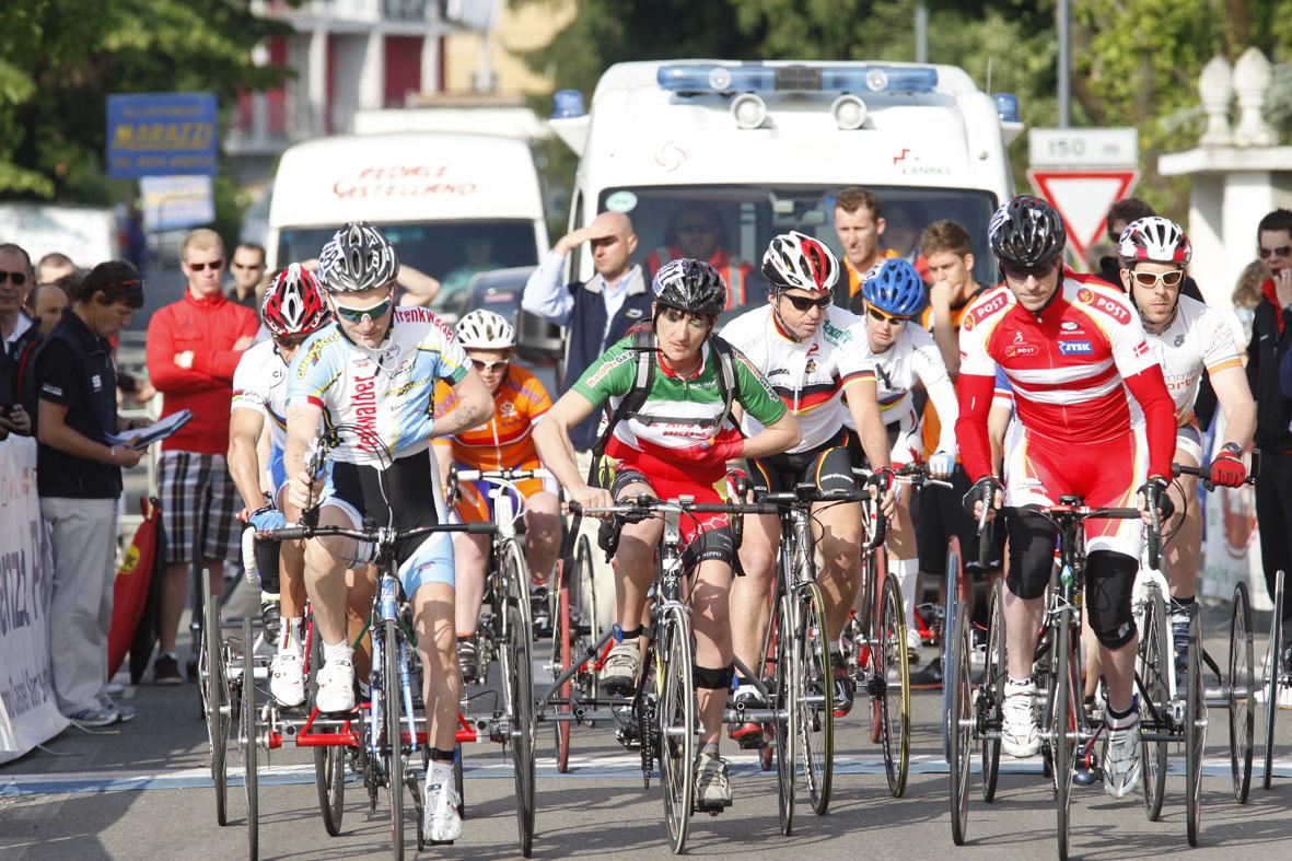 4 Luglio a Castel San Giovanni (Pc) le prime gare della V° Piacenza Paracycling