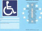 """Il nuovo """"Contrassegno parcheggio disabili europeo"""" : procedure per ottenerlo entro il 15 settembre 2015"""