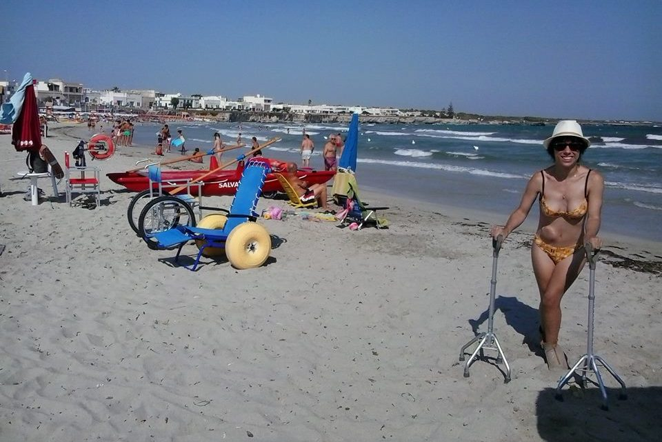 Esperienze Accessibili sul litorale di San Foca (Le). Spiaggie accessibili nel Salento