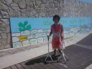 accesso spiaggia san foca2 italiaccessibile 300x225 - Esperienze Accessibili sul litorale di San Foca (Le). Spiaggie accessibili nel Salento