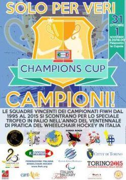 A Torino la Champions Cup FIWH di Wheelchair Hockey