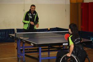 """tennis tavolo disabile montecatone 300x200 - Tennis tavolo disabile: ancora una vittoria per """"Lo Sport è Vita - Montecatone"""""""