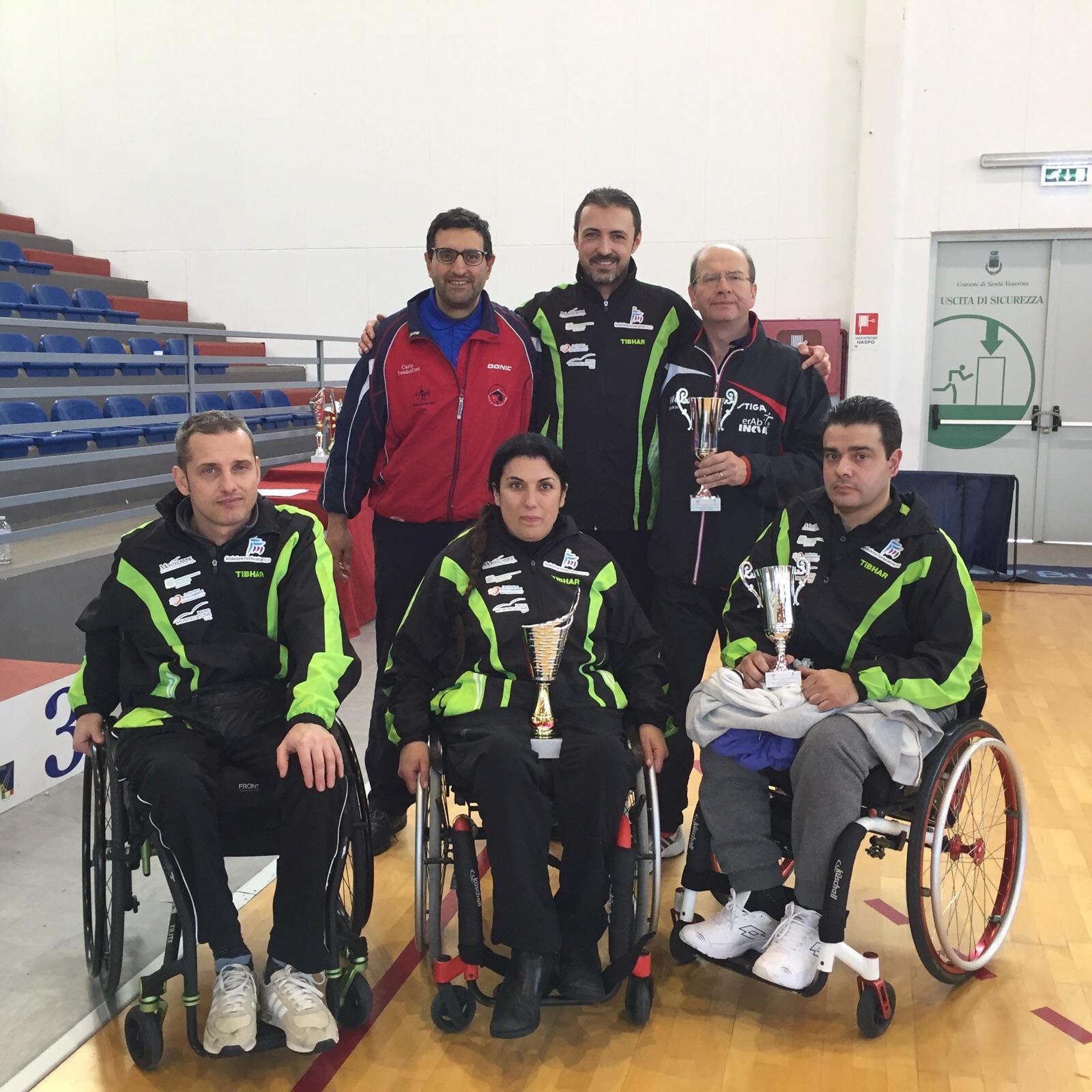 Torneo Nazionale Paralimpico in Sicilia : buona prova di Lo Sport è Vita Montecatone
