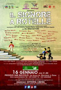 Il Signore a Rotelle - Siena-16 gennaio 2016