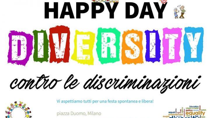 Happy Day Diversity – Festa contro le discriminazioni a Milano il 19 marzo 2016
