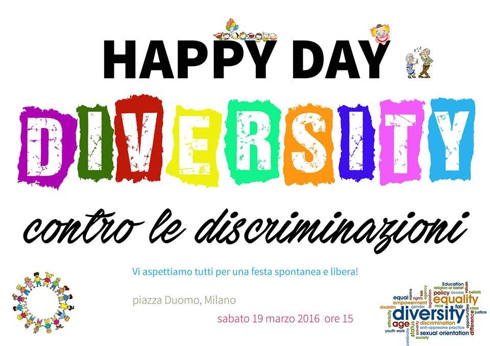 Happy Day Diversity - 19 marzo 2016- Milano