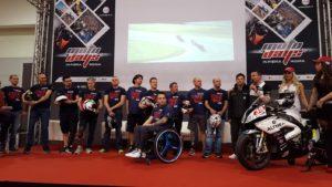 2.Il Team DD presentato in conferenza stampa 300x169 - DD al Motodays : una vetrina importante anche per il motociclismo disabile