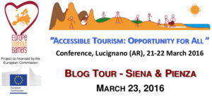 Blog Tour Siena e Pienza - Turismo Accessibile