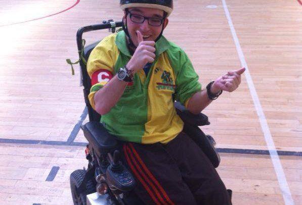 Io , il Wheelchair Hockey e l'amore per questo sport