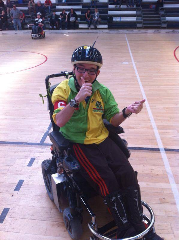 Francesco Gallone wheelchair hockey italiaccessibile - Emerlaws realizza il primo e unico Pronto Soccorso Legale in Italia