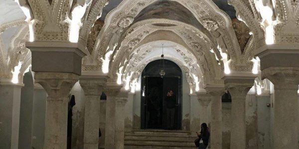 29 maggio ad Avellino uno spettacolo multisensoriale alla Cripta del Duomo