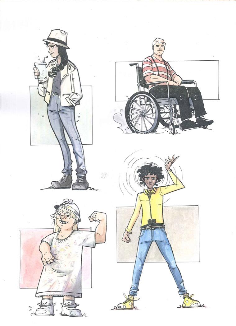 four energy heroes - I progetti di accessibilità del Macerata Opera Festival