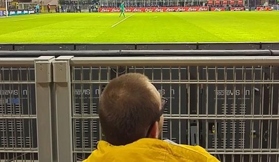 Il San Siro ed problemi di accessibilità per i disabili negli stadi italiani