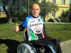 """Mauro Tommasi 300x225 - Mauro Tommasi in sedia a rotelle alla """"100 Km del Passatore"""""""