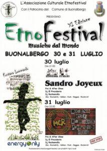 """Etnofestival """"Musiche dal Mondo"""" Buonalbergo (BN)"""