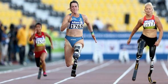 Gli Atleti Paralimpici , un esempio per tutti