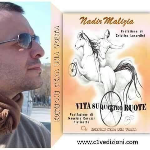"""Nadir malizia: """"vita su quattro ruote"""" di un giurista con la passione per la scrittura"""