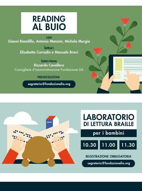 BookCity Milano : gli appuntamenti Reading al Buio della Fondazione Lia