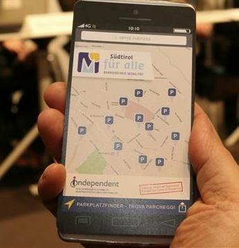 app trova parcheggi bolzano - E' Alessandria la città candidata all' Access City Award 2017