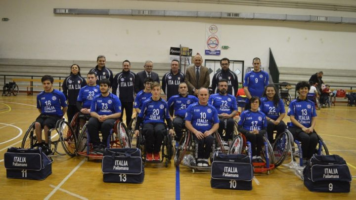 WHEELCHAIR HANDBALL EUROPEAN NATIONS' TOURNAMENT IN SVEZIA:  IL TEAM LIBERTAS PERUGIA SI VESTE D'AZZURRO