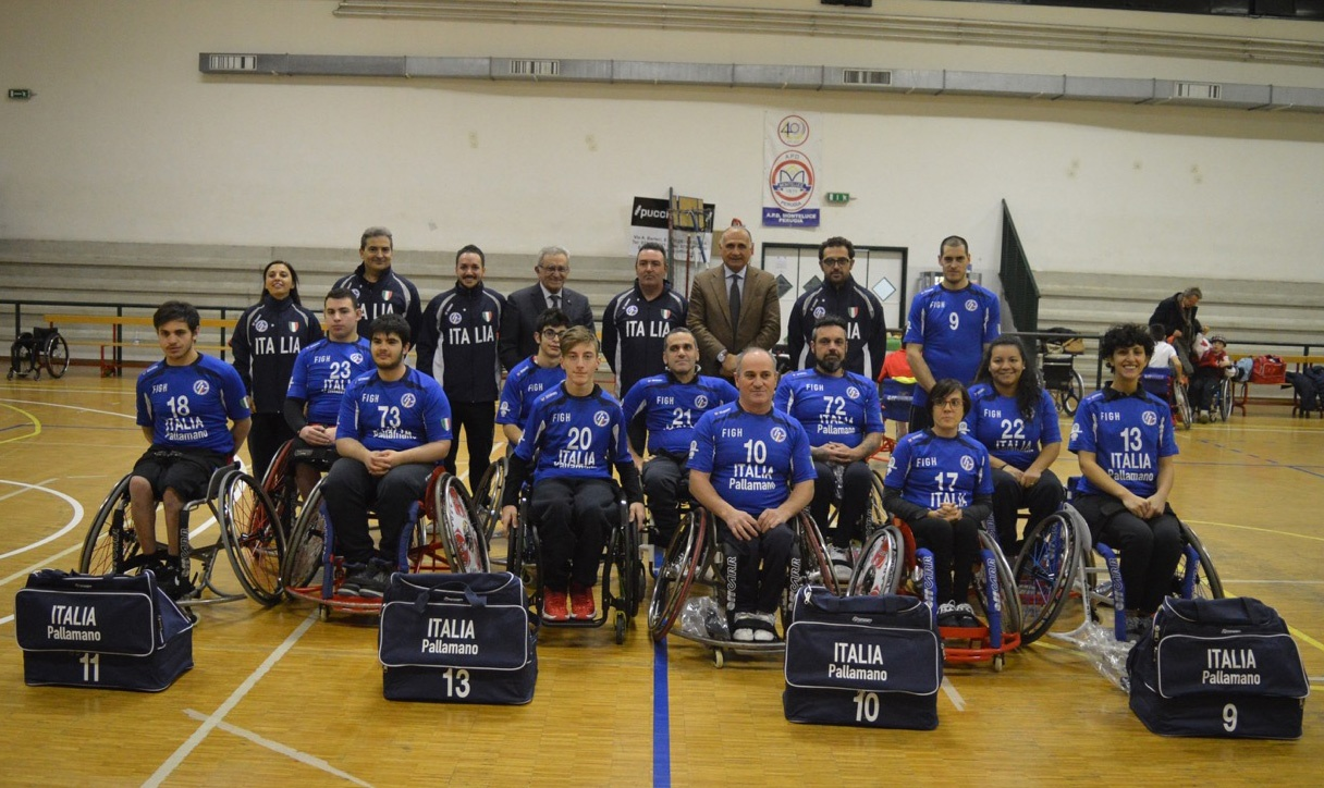 Wheelchair handball european nations' tournament in svezia: il team libertas perugia si veste d'azzurro