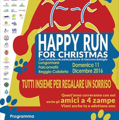 "Giusy Versace lancia la ""Happy Run for Christmas"" a Reggio Calabria"