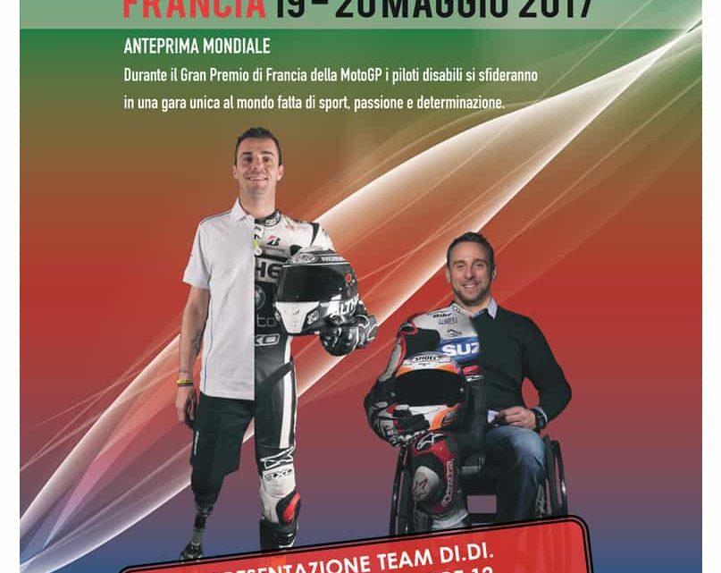 "I Piloti di Moto Paralimpici Di.Di Onlus parteciperanno alla ""International Bridgestone Handy Race"""