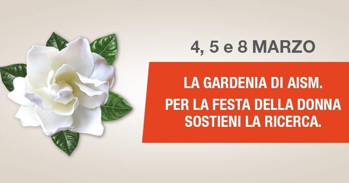 La Gardenia di AISM torna nelle piazze il 5, 6 e 8 marzo per la Festa della donna