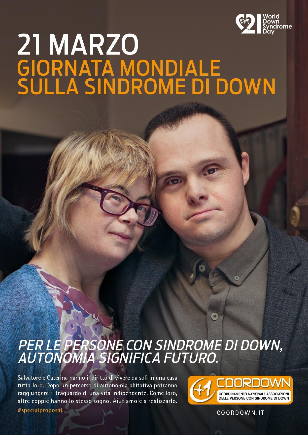 Giornata Mondiale delle Persone con sindrome di Down