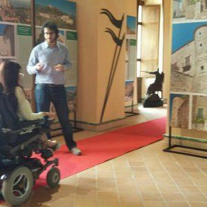 """accessibilità museo castelli casalbore 6 300x300 - Convegno Casalbore (Av), """"Le aree rurali in cammino verso lo sviluppo turistico"""". Partecipa ItaliAccessibile"""