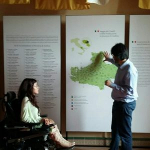 """accessibilità museo castelli casalbore 8 300x300 - Convegno Casalbore (Av), """"Le aree rurali in cammino verso lo sviluppo turistico"""". Partecipa ItaliAccessibile"""