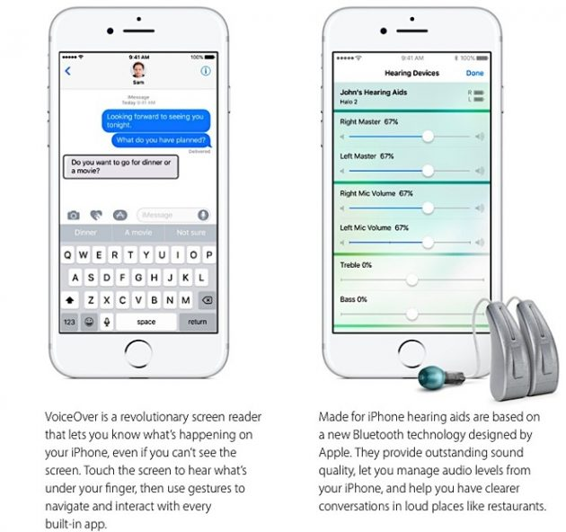 I 7 video dedicati all'accessibilità pubblicati da Apple