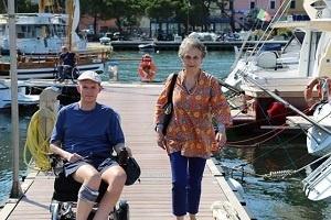 """""""Nessuno può volare"""" un viaggio italiano di Simonetta e di George Hornby per comprendere la disabilità oggi"""